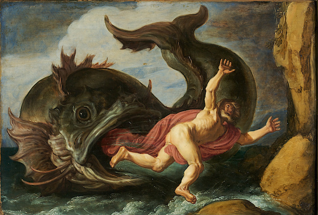 """Jonah and the Whale"" by Pieter Lastman, 1621 (Wikimedia Commons)"