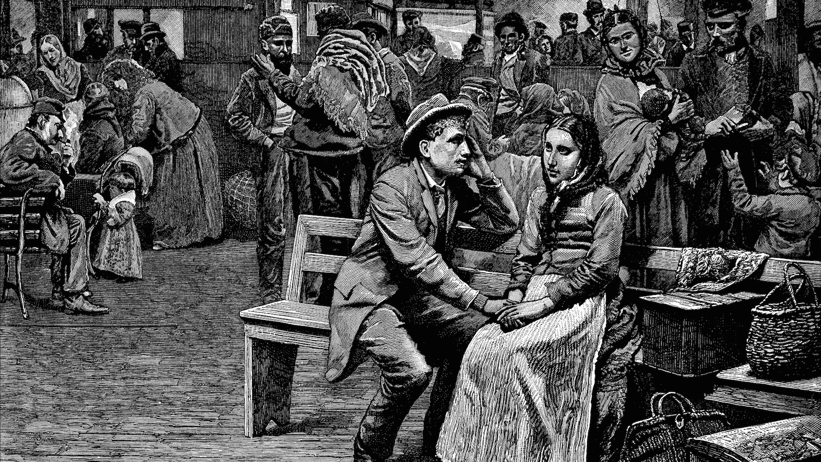 irish immigration in america Irish immigration to canada the irish began immigrating to north america in the 1820s, when the lack of jobs and poverty forced them to seek better opportunities elsewhere after the end of the major european wars when the europeans could finally stop depending on the irish for food during war.