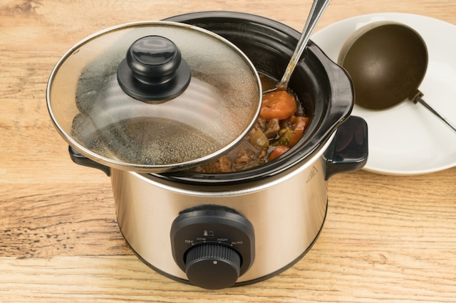 Slow cook crock pot meal
