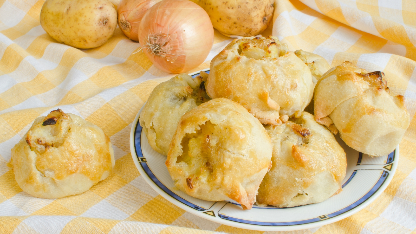 How To Make Knishes Two Ways My Jewish Learning