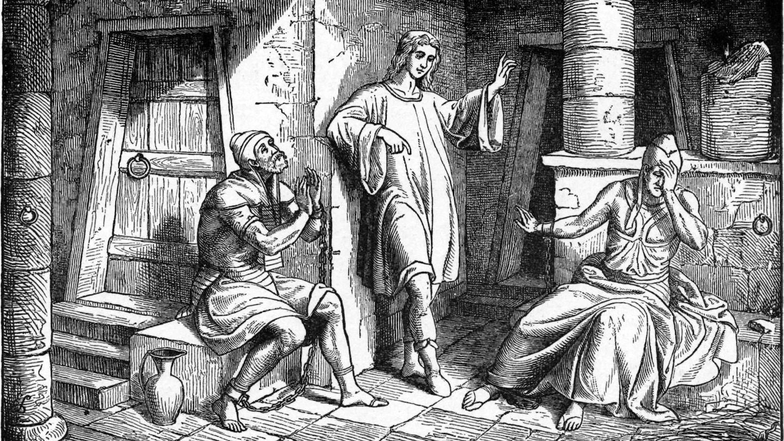 Foster_Bible_Pictures_0051-1_Joseph_Interprets_the_Prisoners'_Dreams