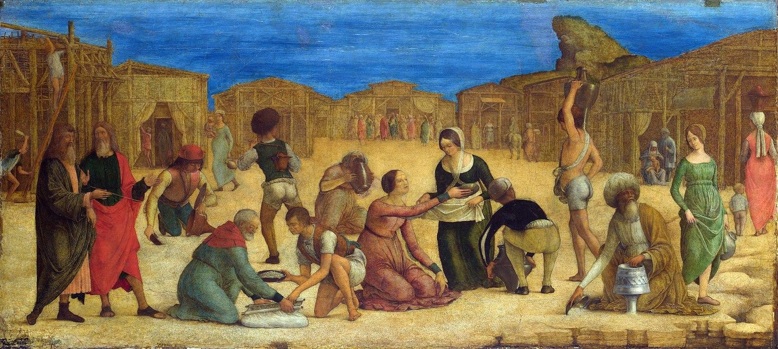 Paintings Of Women Eating Food