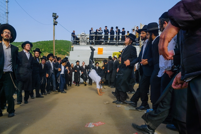 Hasidic Jews dance at the annual pilgrimage to the grave of Rabbi Shimon Bar Yohai, in Meron, Israel, on Lag BaOmer. Bar Yohai was traditionally thought to be the author of the Zohar. (iStock)