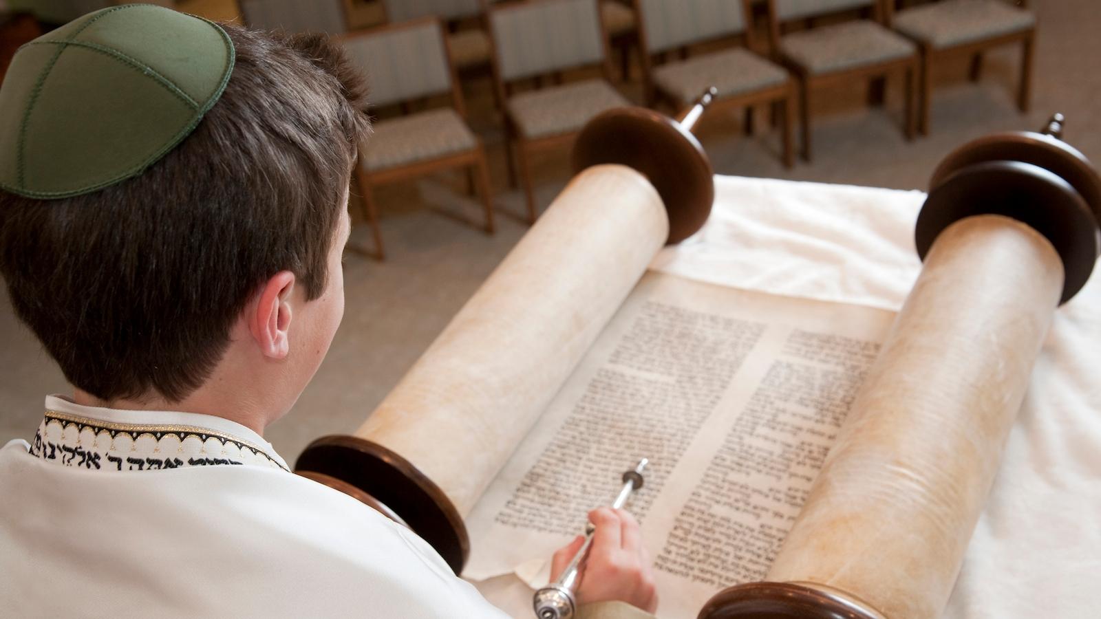 bar mitzvah torah istock.