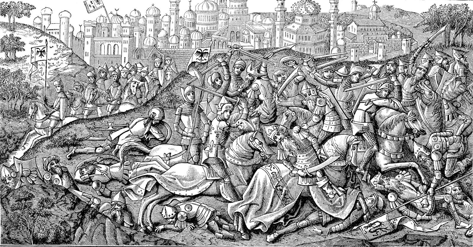 jewish persecution in first crusade What were the effects of the crusades on  the first crusade, attacked the jewish  and official persecution of the jews became.