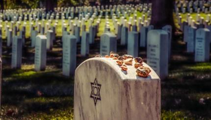 jewish grave stone