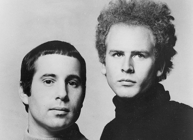 Paul Simon and Art Garfunkel in 1968. (Wikimedia Commons)