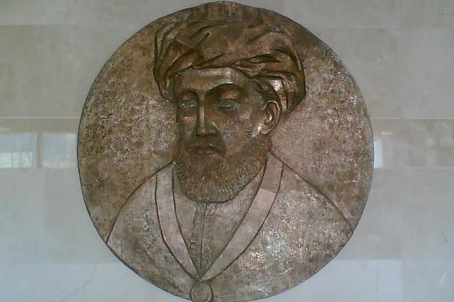 Depiction of Maimonides (also known as the Rambam) at Rambam Hospital in Haifa, Israel. (Wikimedia Commons)