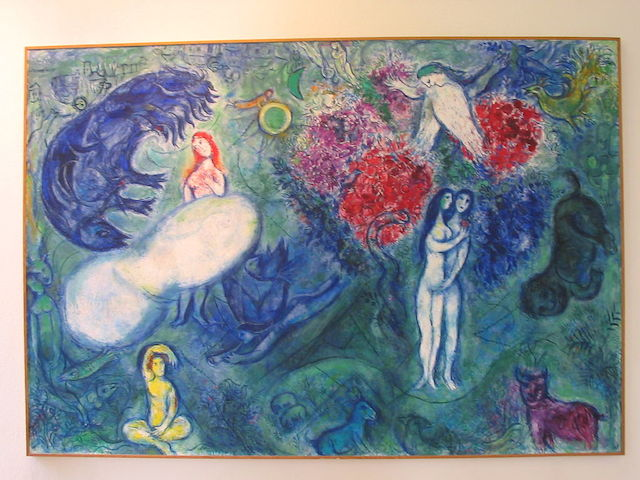 A painting by Marc Chagall (Wikimedia Commons)