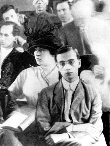 Leo Frank at his trial. (Wikimedia Commons)