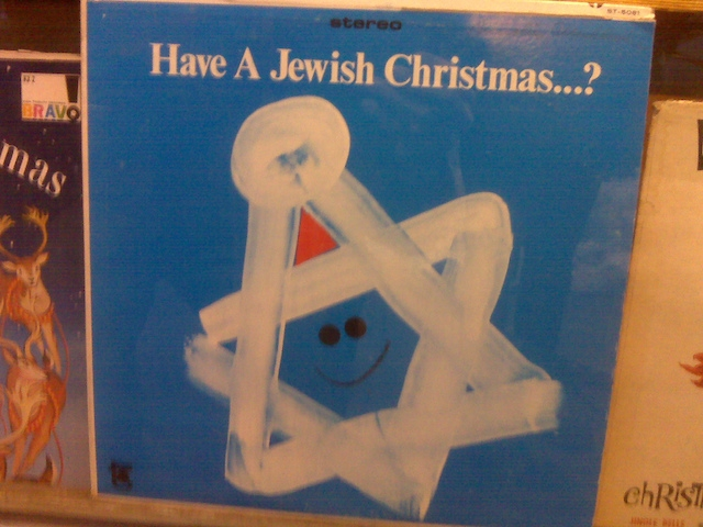 Jewish Christmas album cover