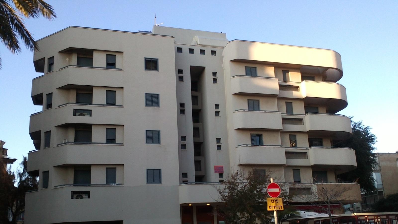 israel bauhaus buildings