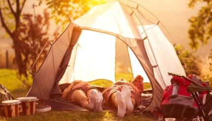 camping shavuot kids