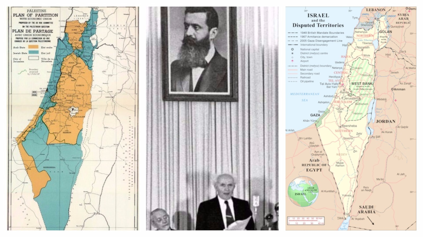The United Nations Partition Plan of 1947   My Jewish Learning