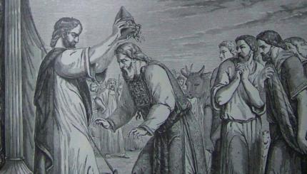 Aaron priest consecration