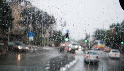 rain israel street