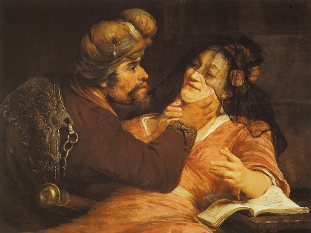 Judah and Tamar, by Aert de Gelder, 1667. (Wikimedia Commons)