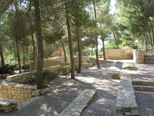 The Garden of the Righteous at Yad Vashem Holocaust Memorial Museum in Jerusalem. The garden honors gentiles who rescued Jews during the Holocaust. (Wikimedia Commons)