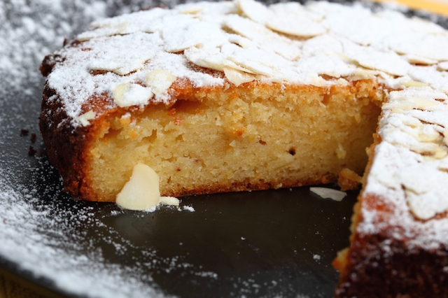 lemon almond semolina cake