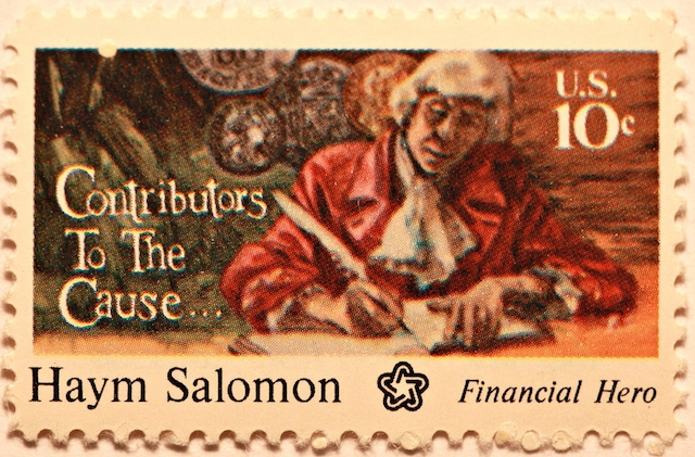 haym salomon stamp