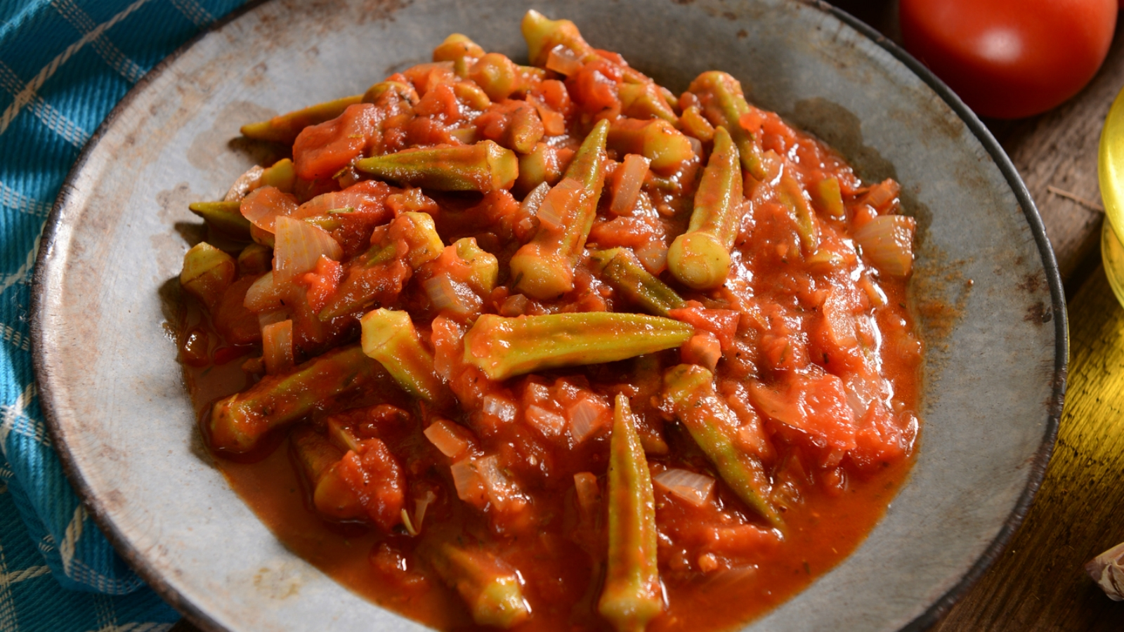 Bamia Okra With Tomatoes My Jewish Learning