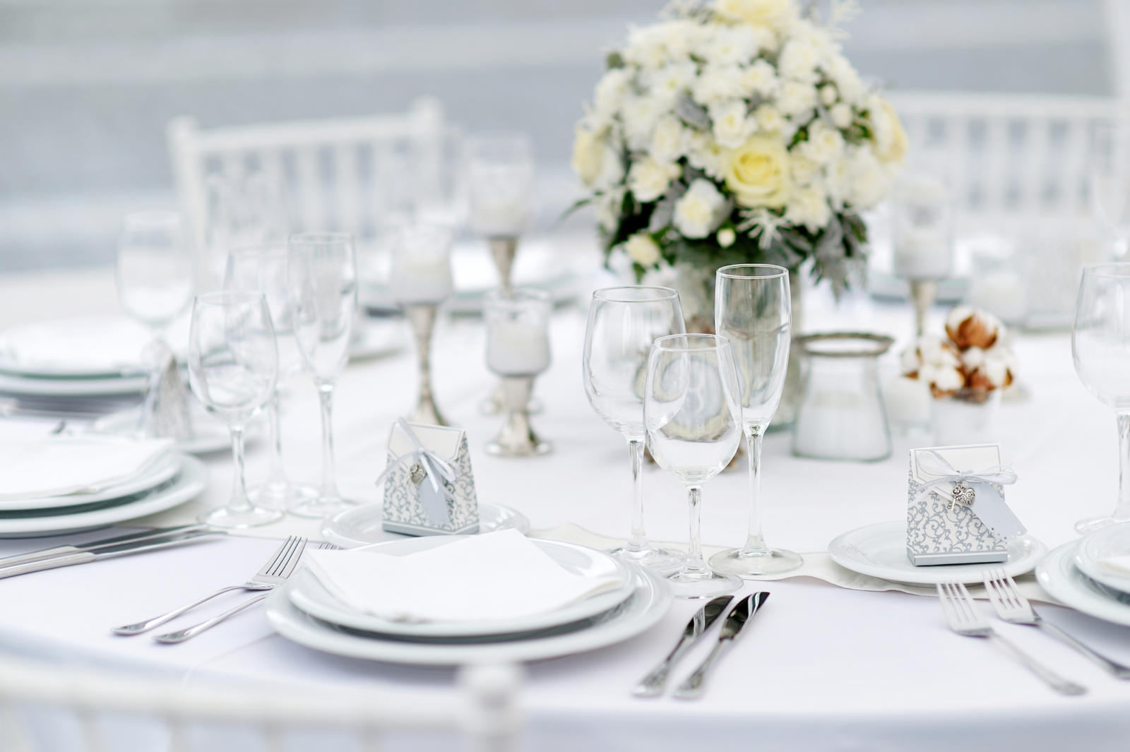 The wedding feast my jewish learning - Mise en place table restaurant ...