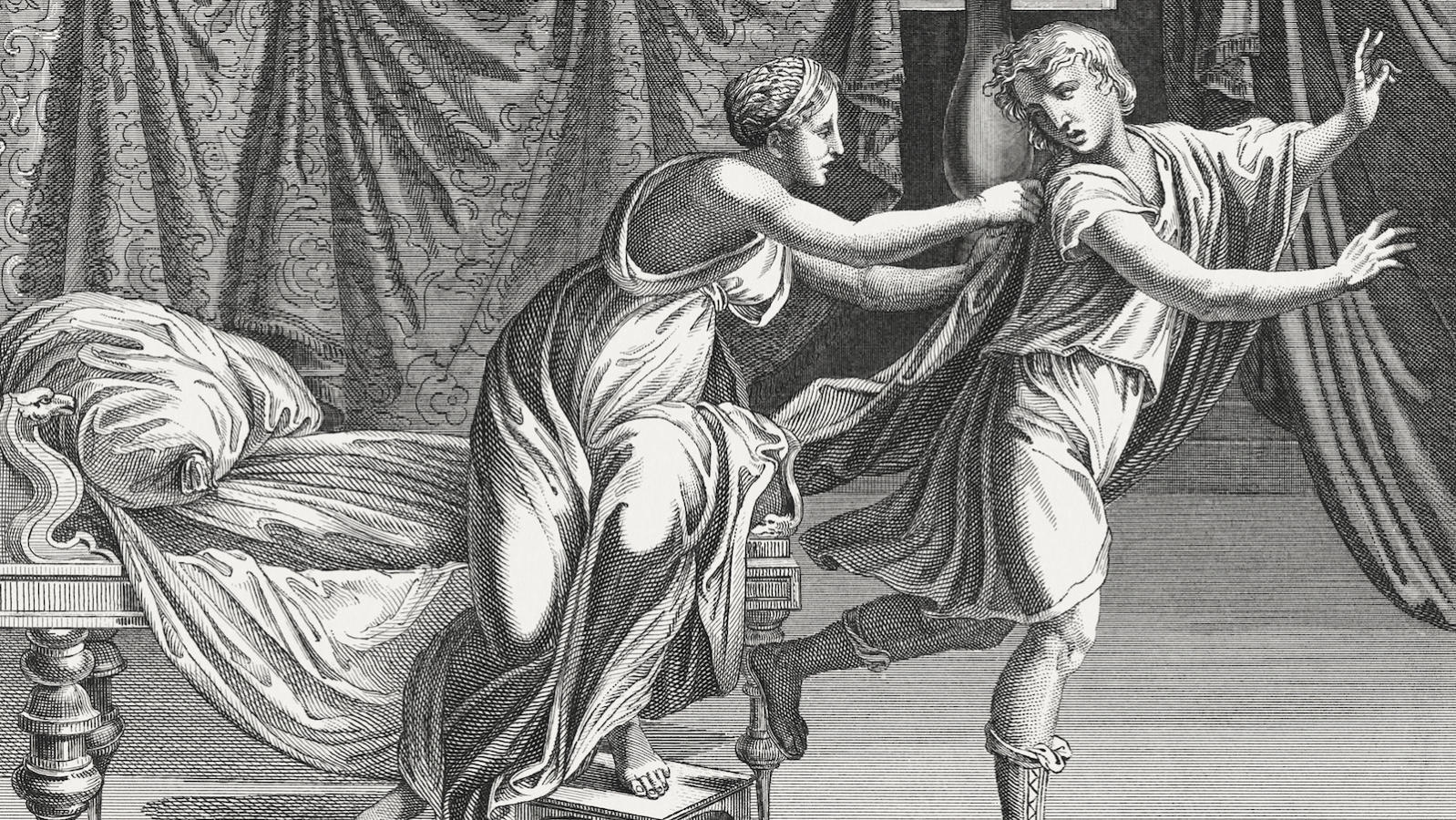 The Ishmaelite Traders Sell Him As A Slave To Potiphar Wealthy Egyptian Merchant Joseph Finds Great Fortune With