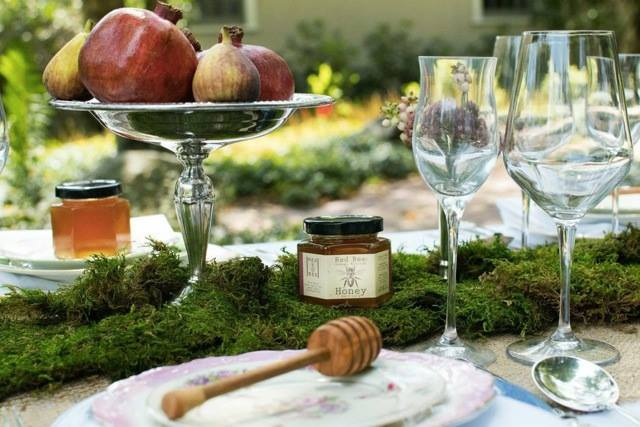 rosh hashanah table