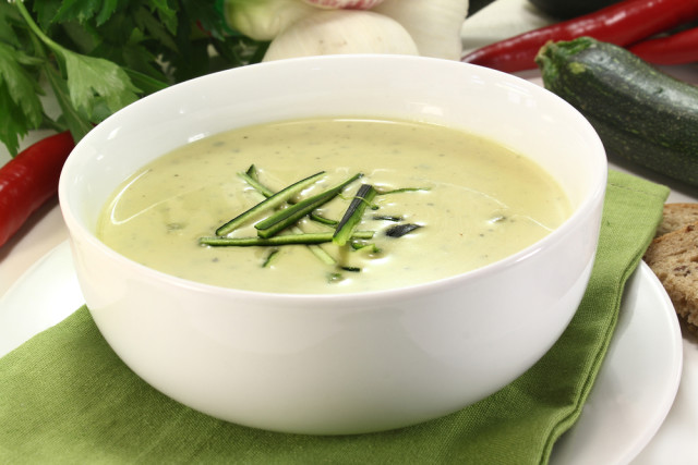 cucumber avacado soup