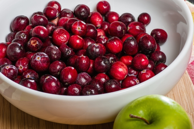 cranberries apple