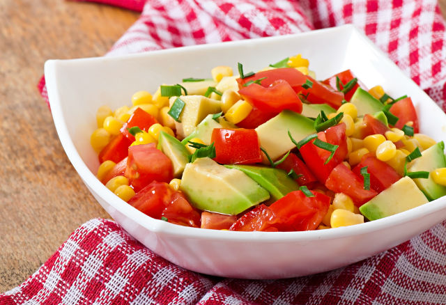 corn avocado salad