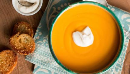 tunisian squash soup