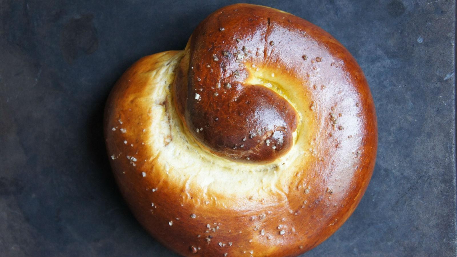 Balsamic Apple Date Challah for Rosh Hashanah
