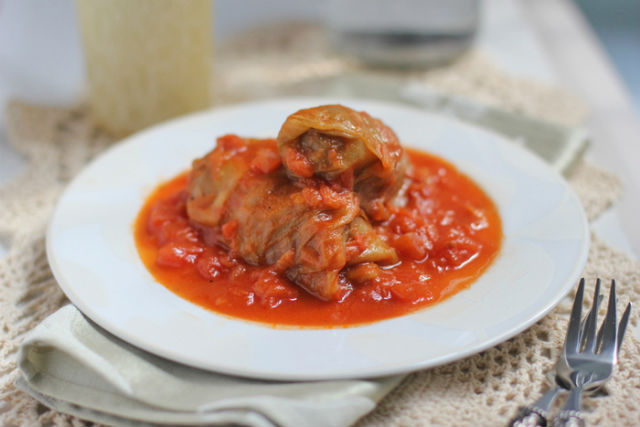 Stuffed Cabbage main