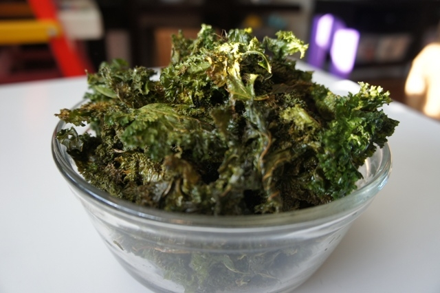 The Nosher's perfect kale chips