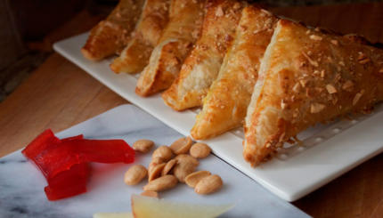 manchego quince turnovers