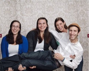 The 2013-2015 ISJL Education Fellow Family. We really did have these done at JC Penney.