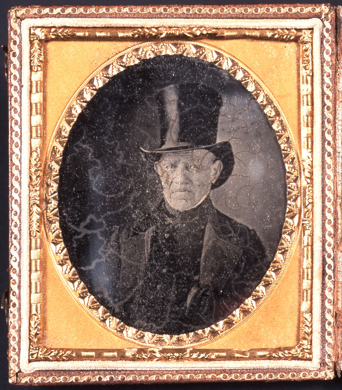 Judah Touro, ambrotype