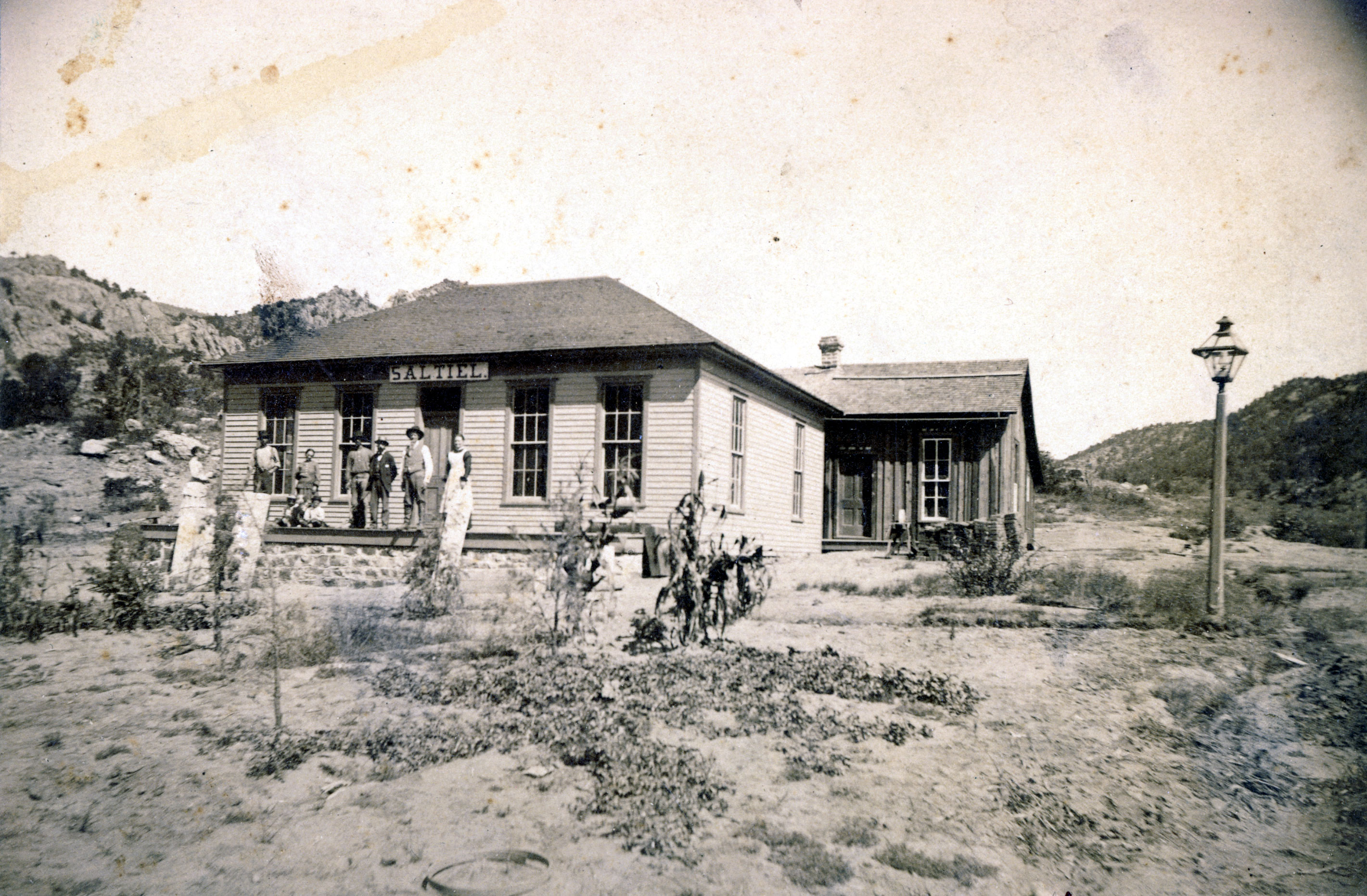 Saltiel's Store, an early Jewish store on the frontier.