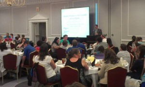A session at last year's conference