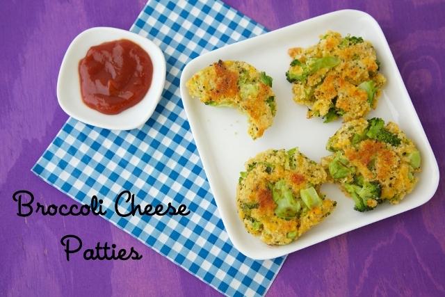 Broccoli-Cheese-Patties