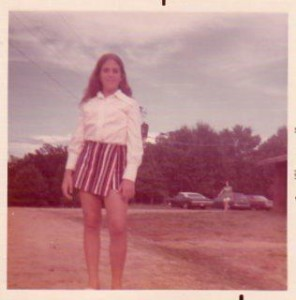 Ann in 1973 at Jacobs Camp