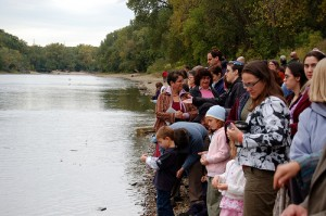 Casting Off Sins in the Mississippi River
