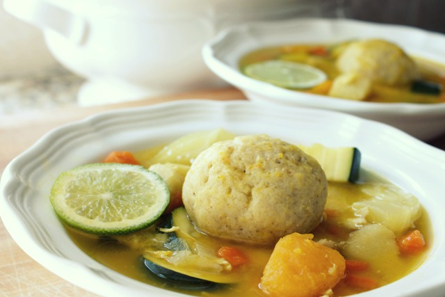 Cuban Matzoh Ball Soup