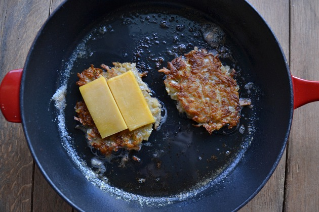 Grilled Cheese Latkes Nosher3