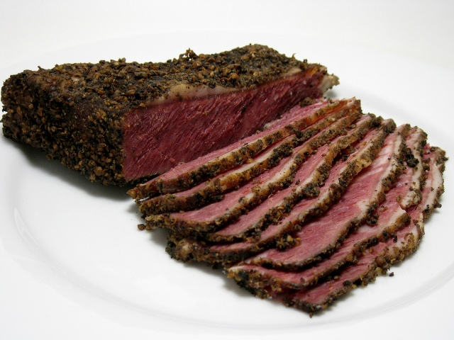 Grow and Behold pastrami