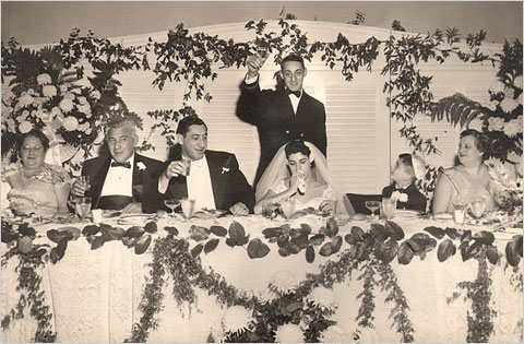 Harvey Milk Giving a toast at a family wedding