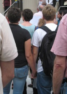 Is holding hands comfortable for LGBT at your institution?
