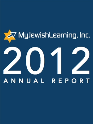 MyJewishLearning Annual Report