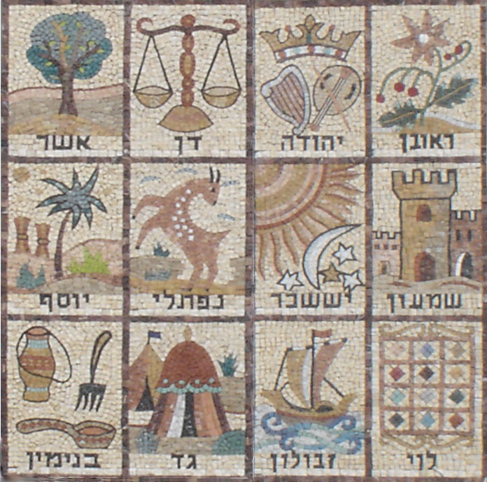 12 Tribes of Israel - a diverse people from the start.